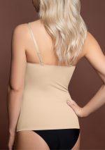 invisible singlet beige back