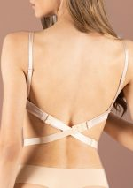 Bye Bra - Low Back Straps - 2-Hook and 3-Hook - 3 Pack - Black, White, Beige