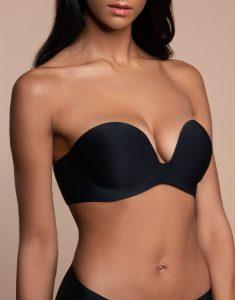 gala bra black front