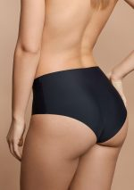 invisible high waist brief black back model