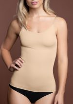 invisible singlet beige front