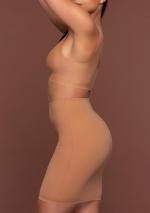 Bra Top V-Neck Light Brown side
