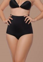 padded panties high waist black front