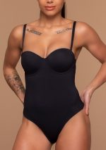 Sculpting Bodysuit Padded Wire Model Front Bands