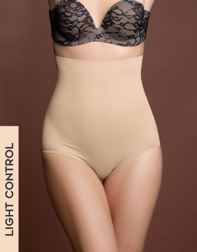 Bye Bra - Shapewear - Invisible High Waist Brief - Beige