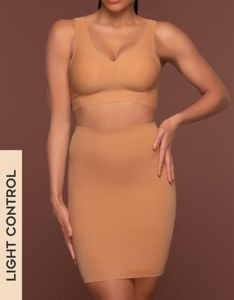 Bye Bra - Shapewear - Invisible Skirt - Light Brown